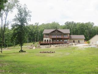 Branson home on private 57 acred woods