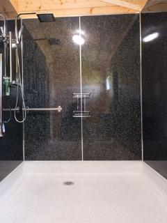 Wetroom with Rain Shower