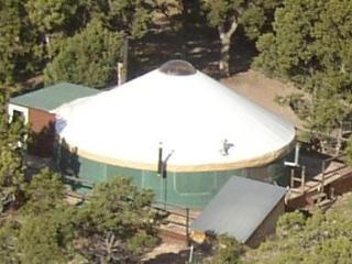 The YURT at Screwball Ranch, Cedaredge