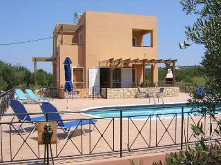 Villa Helios with private gated pool, Almyrida
