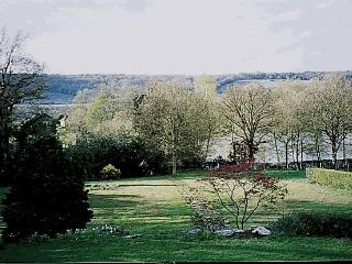 View from house early spring