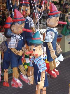 Collodi, the home of Pinocchio (20 minutes) with theme park.