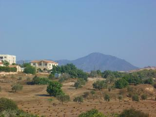 Stavrovouni Mountain Viewed from Roof Terrace
