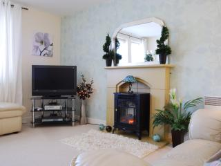 Flat screen TV, X-Box, Free Wifi, Freeview at this stylish apartment