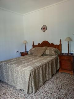The second double room - has its own doors to the terrace and completely comfortable