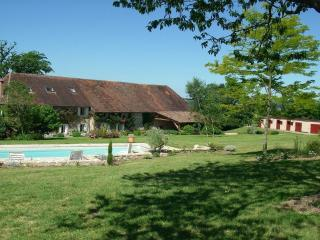 Stunning Manor Farm sleeps 16+, Saint-Priest-Ligoure