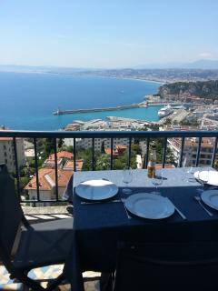 lunch for 4 on the terrace