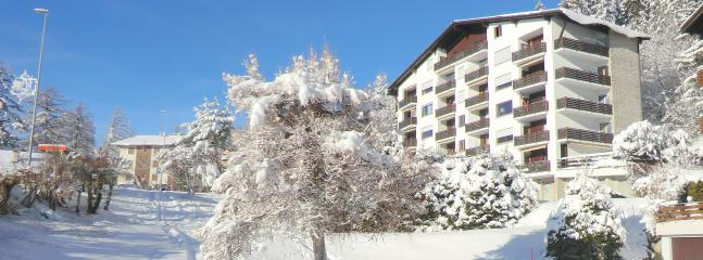 Chalet Lisiere Sud during winter