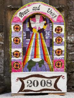 Well Dressing - Carnival starts last Saturday of July