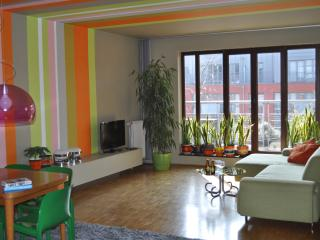 2 bedrooms, each with own bathroom. Pvt parking., Brussels