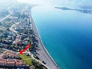 BEACH FRONT villa with direct Mediterranean sea views, Sleeps 8, 30 min to Dalaman International Airport, Fethiye