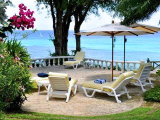 Barbados Villa 120 Looking Out To The Gardens And The Inviting Waters Of The Caribbean Sea., Fitts