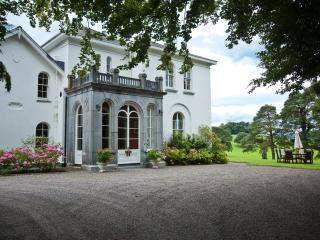 Front entrance to the manor approched via a long lime tree lined avenue.