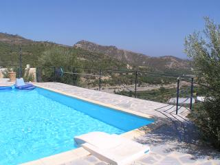 Luxurous villa with private pool and sea view, Ierapetra