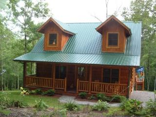 Log Cabin Retreat Big South Fork Park Tennessee, Jamestown