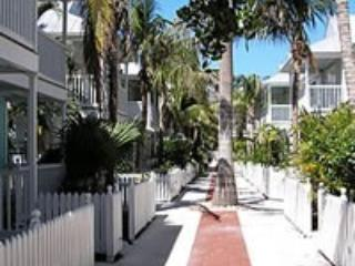 Stay in the nicest part of Truman Annex, Key West