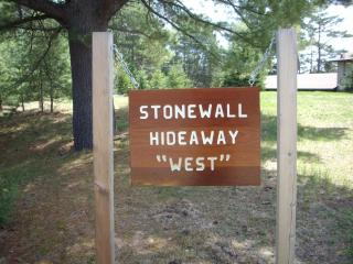 Stonewall Hideaway on Grand Portage Lake in Mercer