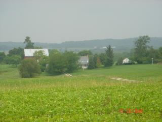1840 PA Farmhouse & Cottage on 83 Acres w/ Pool, East Berlin