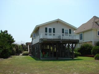 OCEAN FRONT 2 BR COTTAGE::  North Topsail NC, North Topsail Beach