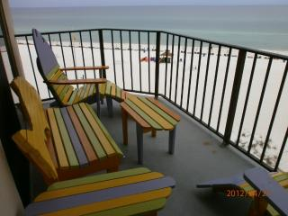 Gulf front condo at the Sunbird, Panama City Beach
