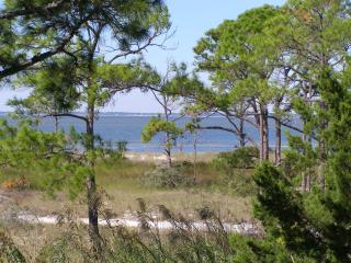 Florida beachfront home with semi-private dock, Carrabelle