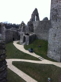 Recently opened after extensive work, Oystermouth Castle is inspirational.