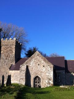 The Gower peninsula is dotted with historic churches and villages.