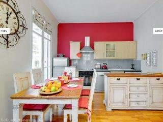 Adorable 2 bedroom apartment with street view balcony on Nice's Carre d'Or, Niza