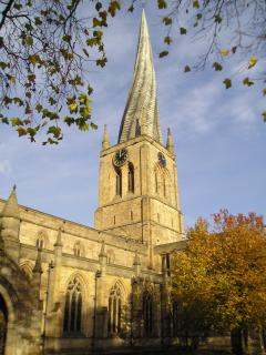 Chesterfield~Famous Crooked Spire(2miles North)