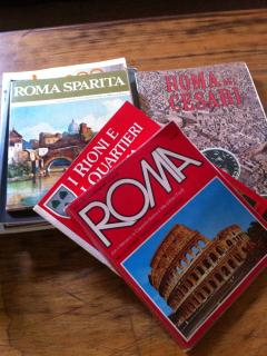 Rome guides are at your disposal in the home