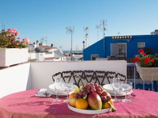 Charming casita with lovely sea view terrace, Sitges