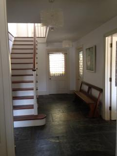 Hall on entering property