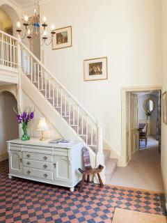 Staircase and Dining Room to Side