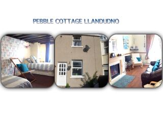 PEBBLE COTTAGE near beach, Llandudno
