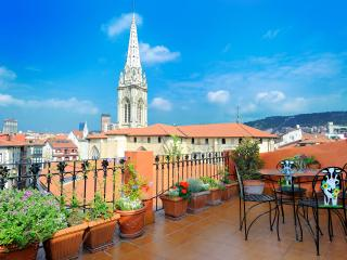 Penthouse with lift and terrace (Cathedral), Bilbao