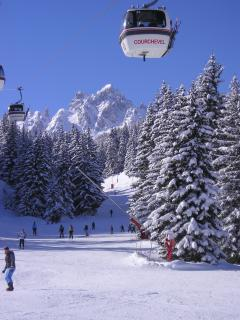 The pistes at Courchevel are well groomed, ideal for everyone from beginners to experts