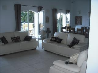 Relax in the large living area