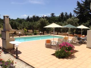 Lovely sunny private pool, garden & olive grove