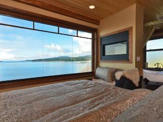 The Sea to Sky Loft View from the king bed