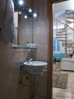 Another view of the main floor bathroom