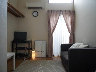 Comfy modern studio in local shopping street, Kioto