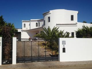 View of villa from front gate