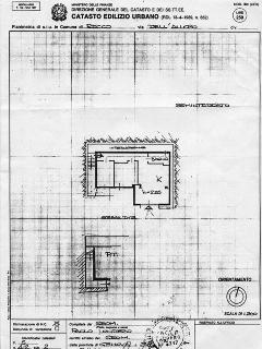 Plan of the apartment B