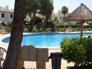 Beautiful location right above beach,old Cabo Roig