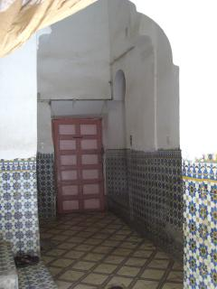 entry of the riad