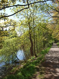 Footpath along the River Ness