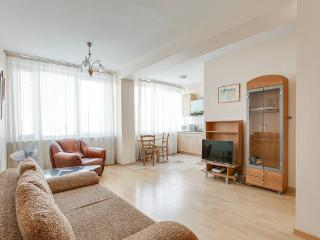 1 bedroom at New Arbat with Kremlin view, Moscou