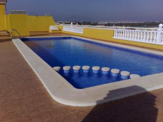 Private rooftop pool (shared with the apartment block)