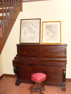 Piano in the entrance