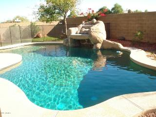 Sunny and warm winters in Litchfield Park,  AZ